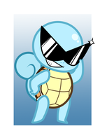 Pokemon: Squirtle Charm Design by StarryTumble