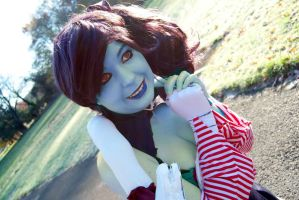 It's lovely above ground! by TaliBelle-Cosplay