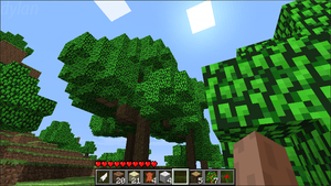 Minecraft Screenshot: Trees by dylrocks95