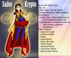 +Justice Scouts+ Sailor Krypto(Superman) by phoenixtsukino