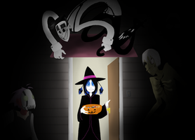 trick or... by LimeInDaCoconut
