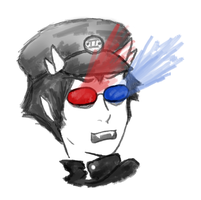 trollcop sollux by TheAssholeProphet