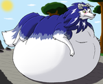 Fatty Tiger by HectortheWolf