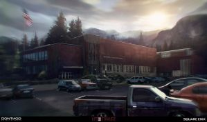Life Is Strange - Early concept art by jamga
