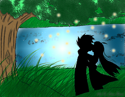 Song Three- Kiss me by Akask1-chibi