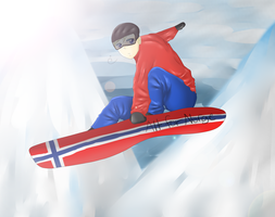 APH - Snowboarding by Okkefac