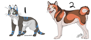 Point Adoptables- CAT STILL OPEN. 10 points by Rinqz