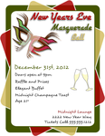 Inkscape New Years Eve Ball Flyer Template by flyertutor