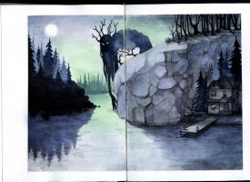 sketchbook - Lake by Sai-Shi
