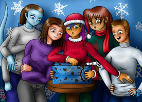 Christmas with the Sisterhood by AzaleaCloud