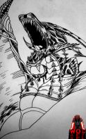 Dragon inks by War-Off-Evil