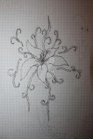 Flower version 2. The Lily. by sillyedhel