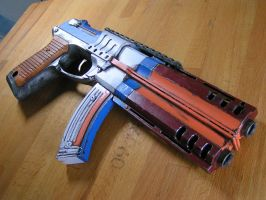 borderlands 2  style pistol by faustus70