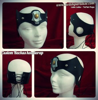 Black Rackus headband (bandana) by TwilekParadise