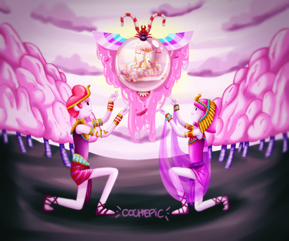 Candy Kingdom by cochepic