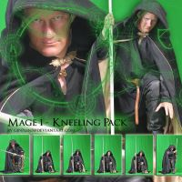 Mage1 - Kneeling Pack by Georgina-Gibson