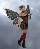 Gothic Fairy by Erevia