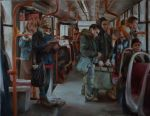My friends in the tram by Materialization