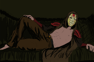 Amon a couch by KasonSama