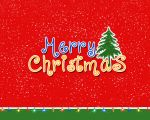 Merry Christmas Text Wallpaper by dabbex30