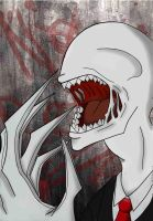 Slender is always hungry... by toshiki-yue