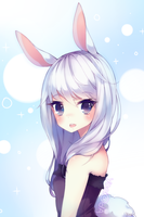 Bunny + SPEEDPAINT by Yoai