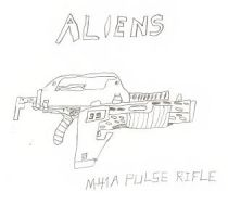 M41A Pulse Rifle Sketch by ReturningDragon