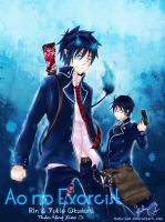 Ao no Exorcist by KuKu-Cat