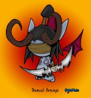 Illidan Chibi by hybrian