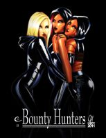 Ladies of Bounty Hunters by Cahnartist