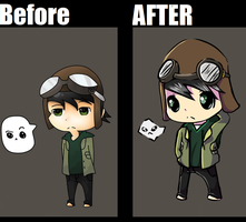 Before and After by HappyFaceMM