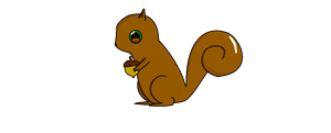 Squirrel by SoupInsanity