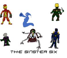 The Spider [Concept Art] The Sinister Six by Steamland