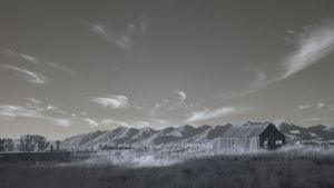 Landscape - Infrared by NickSpiker