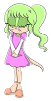 Giselle the Mole by JustASillyFilly