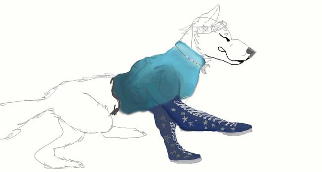 Sketch not finished, I was bored.. :P by ToothlessJamaaAJ