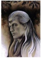 My First Thranduil Ever by ebe-kastein