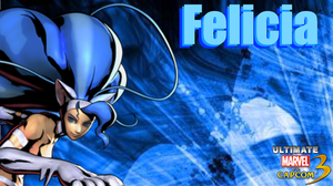 UMVC3 Felicia Wallpaper by Hotfeet444