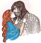 Sansa.Sandor by hedgehog-in-snow