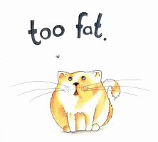 too fat. by Creative-Caro