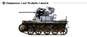 Flakpanzer I Ausf.A by nicksikh