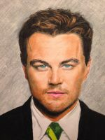 Leonardo DiCaprio in Colored Pencil by thelowsAint