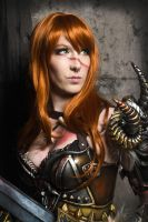 Barbarian Female - Diablo 3 Cosplay by emilyrosa