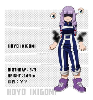 [BnHA OC] Hoyo in the anime??? by Amadere