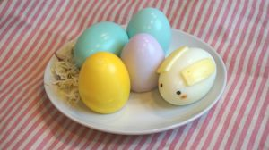 No food coloring Easter eggs (with tutorial) by minicuteclub