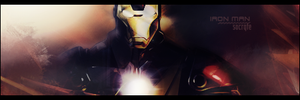 Sign. Iron Man by Socrqte