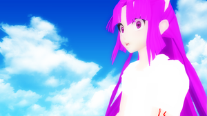 [MMD] Ohiko 7 [_theBlue] by CryogenicNeon