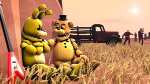 Springbonnie's memories: months ago... by TalonDang