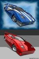 Lambo Countach 2006 Touch Up 2 by ragingpixels