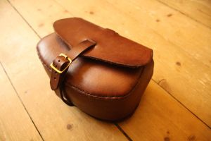 Large Leather Bag by SoerenHammer